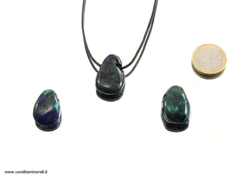 Pendente Azzurrite / Malachite
