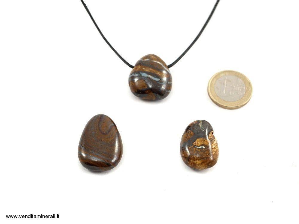 Pendente a goccia opale Boulder