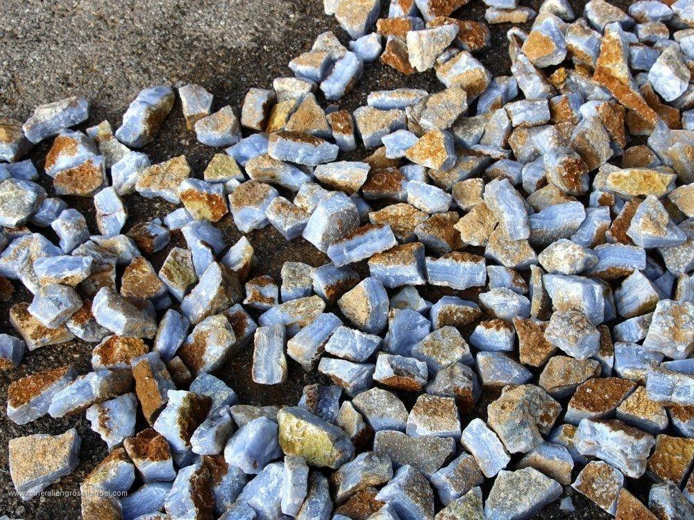Pietre grezze di calcedonio -1 kg