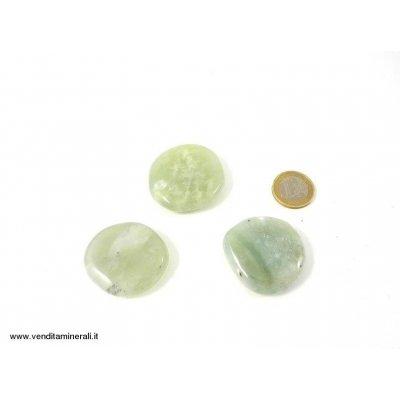 Pietri tascabili 'China Jade'  - 1 pezzo
