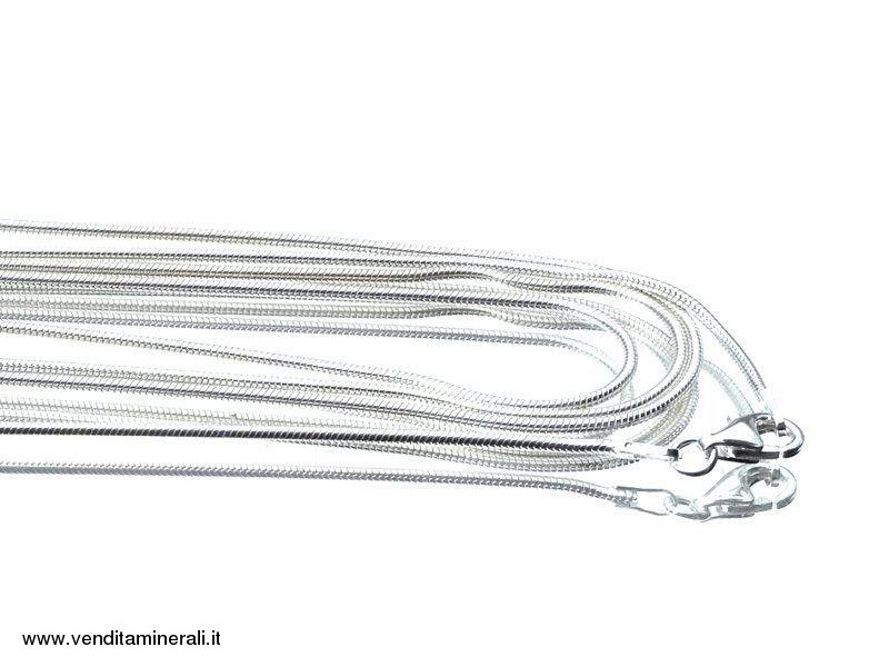 Collana in argento 925 - 60 cm