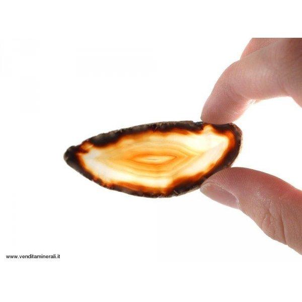 Agata sezionata corniola piccola - 1 pezzo
