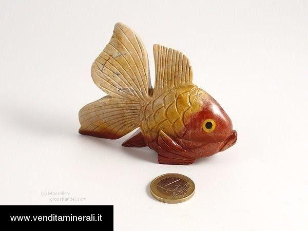 Pesce in marmo naturale