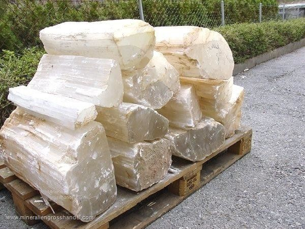 Selenite - Cristallo di gesso - 1 kg