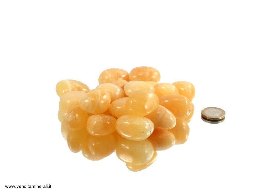 Calcite giallo-arancio - 0,5 kg