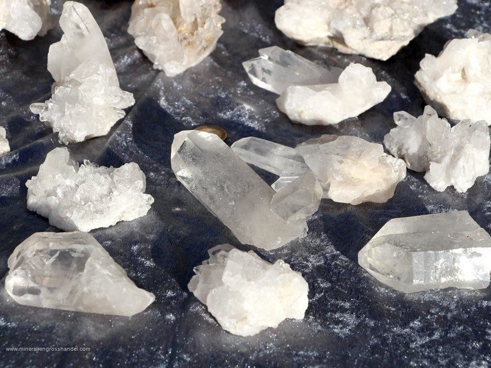 Cristalli di roccia - Qualità A / B