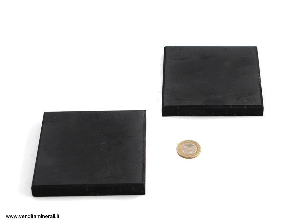Cubo di shungite 10x10x1 cm