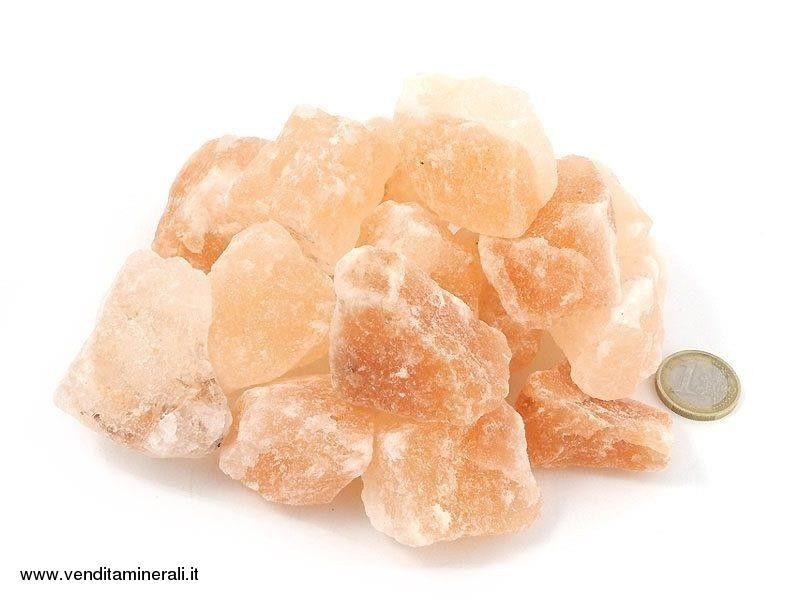 Sale cristallino - piccole pietre grezze (2-5 cm) - 1 kg