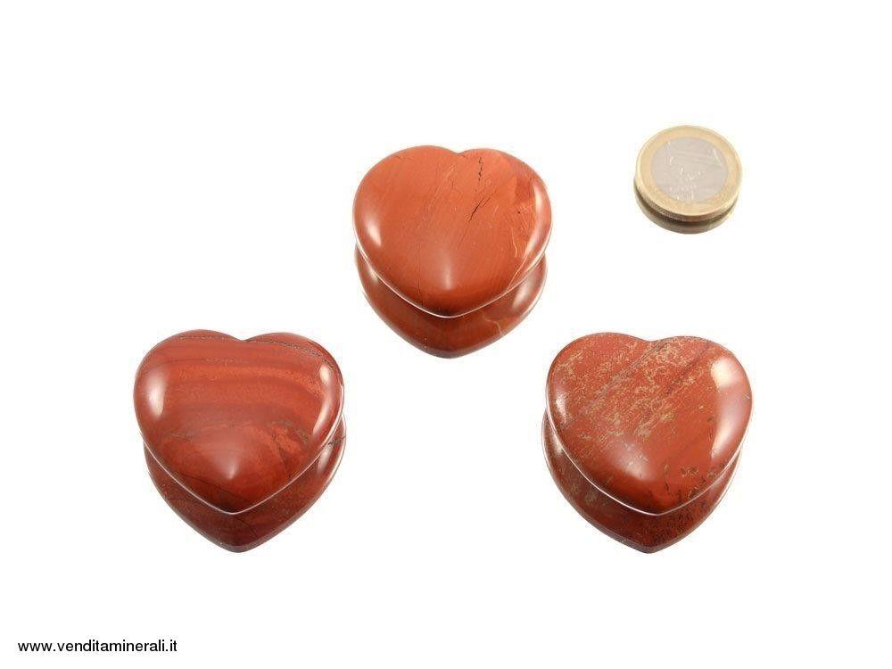Diaspro cuore rosso