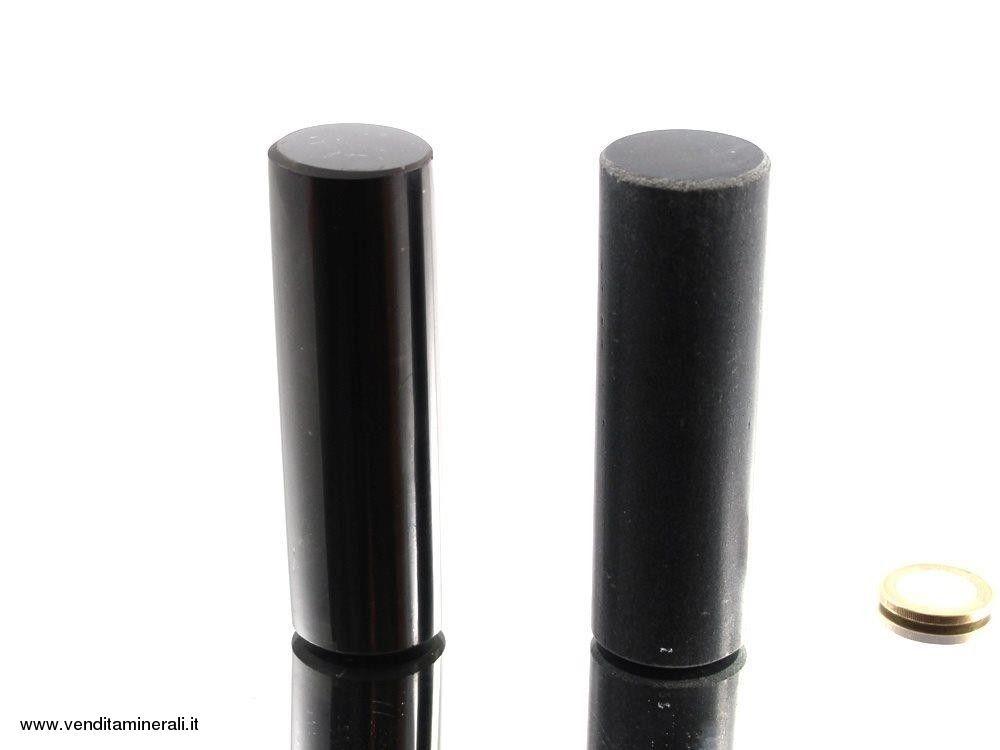 Cilindro di clorite di talco-shungite