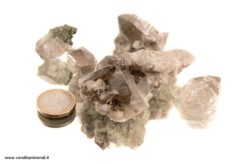 5 pezzi di Qurzo fumè - Habachtal