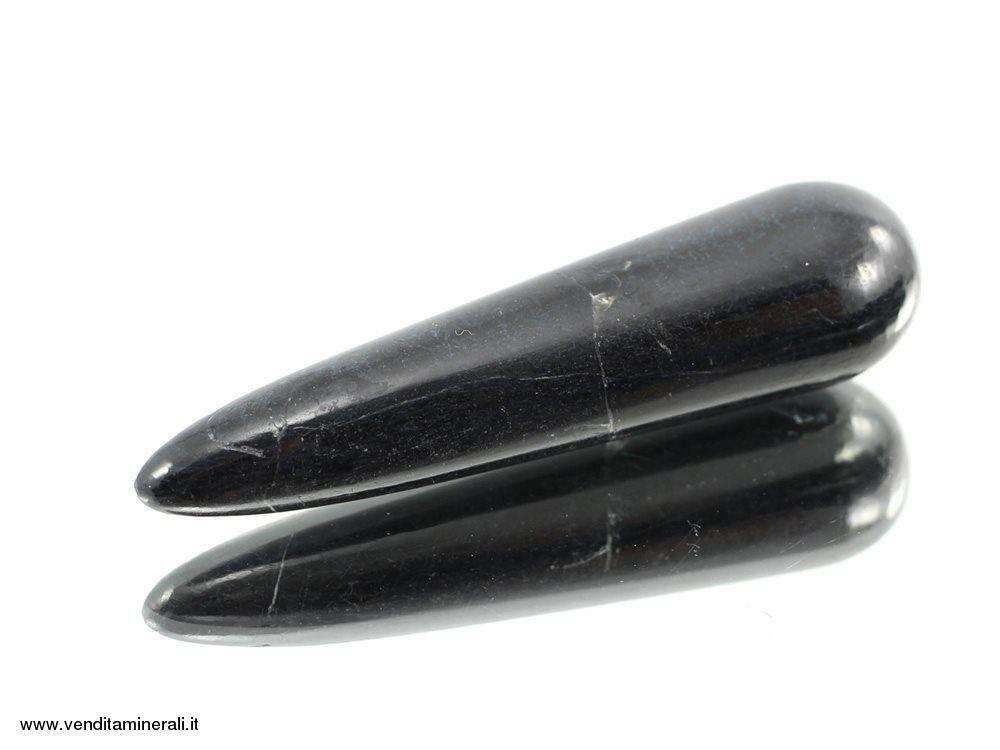 Bastoncini di Tormalina rotonda per massaggio