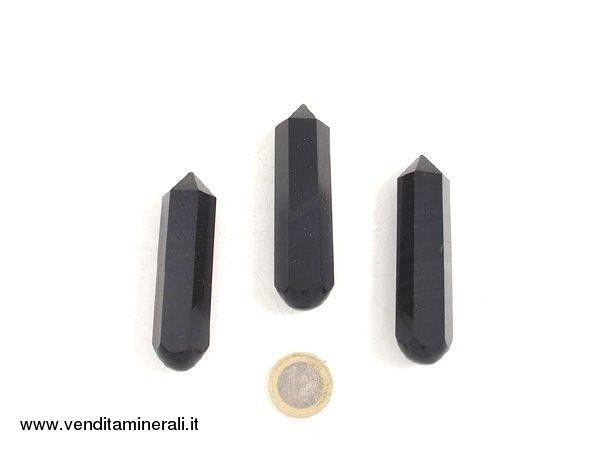 Lamella d'ossidiana esagonale per massaggi