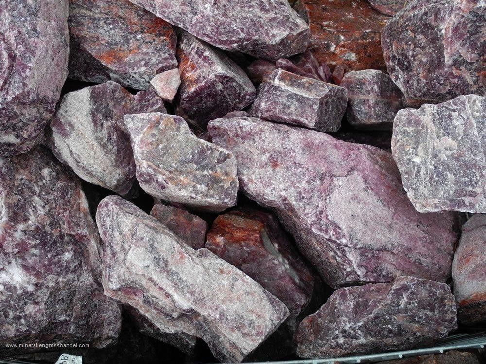 Avventurina rossa - pietre di quarzo fragola 1 kg