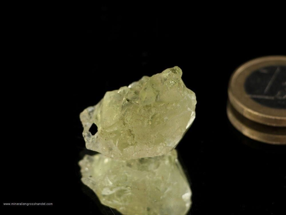 Berillio d'oro (eliodoro) - cristallo scheletrico