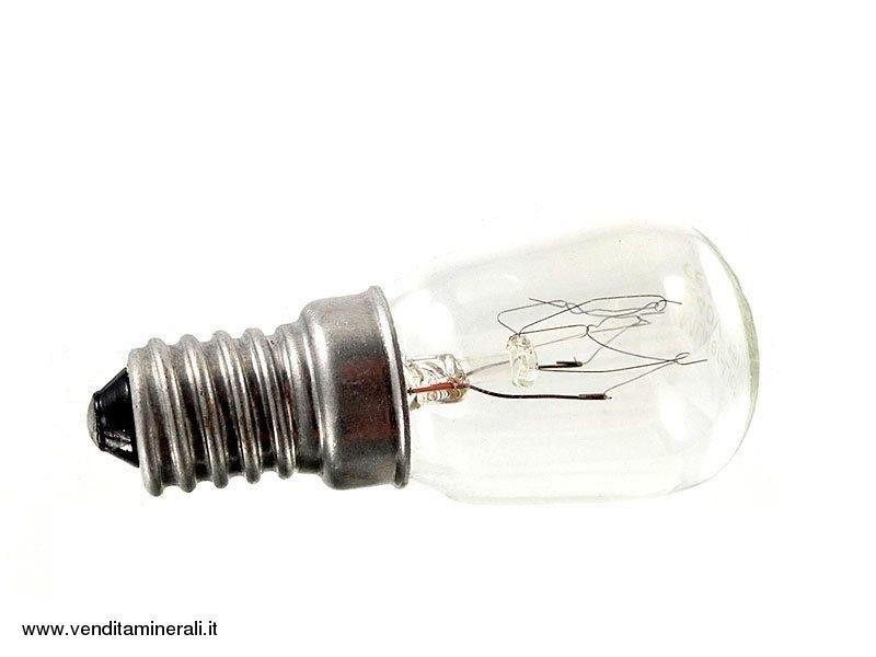 Lampadina trasparente E14 - 25W