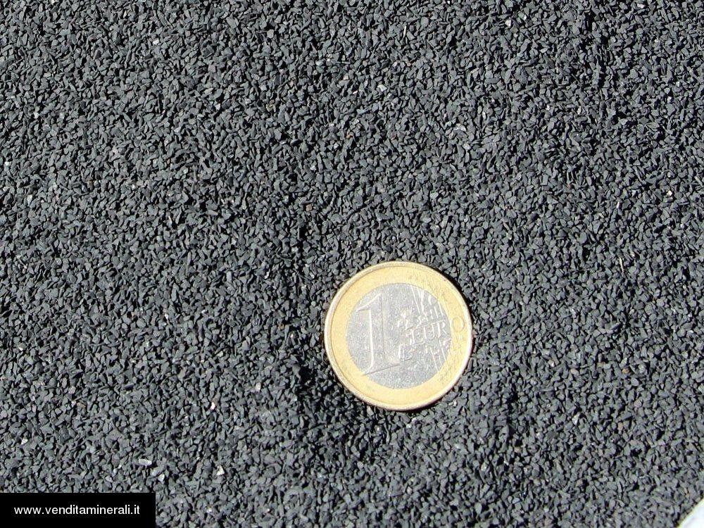 Polvere di shungite 0,5 - 1 mm - 1 kg