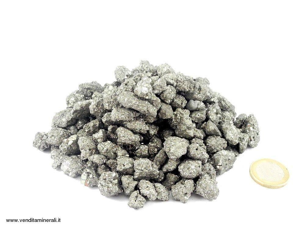 Pirite - pietre grezze mini - 1 kg