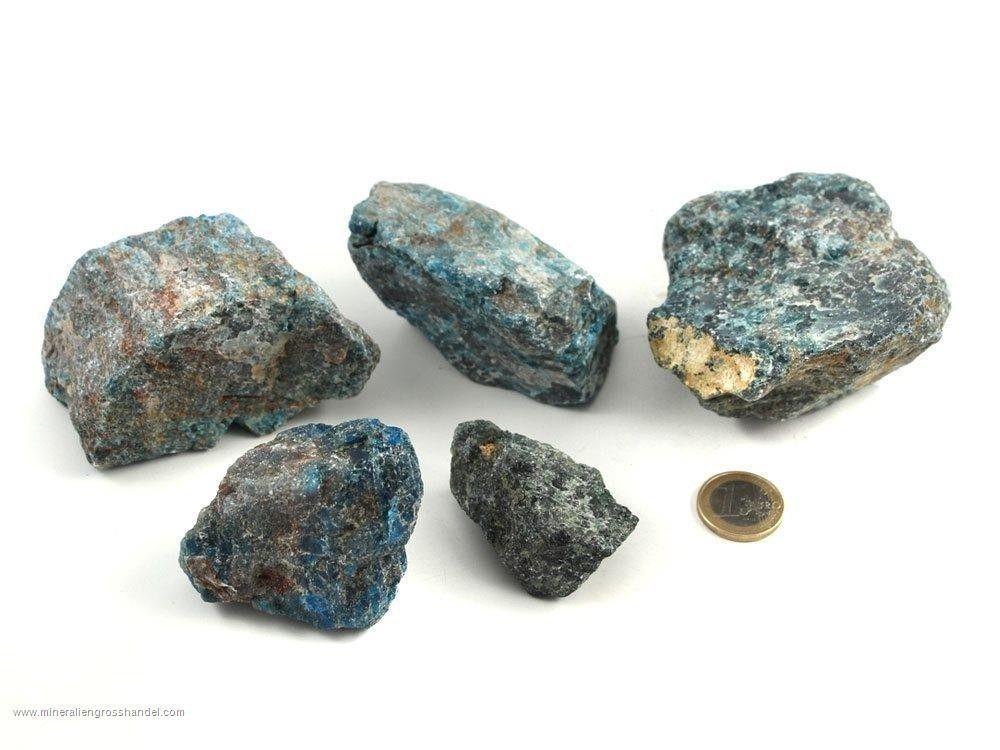 Pietre ruvide di apatite - 1 kg