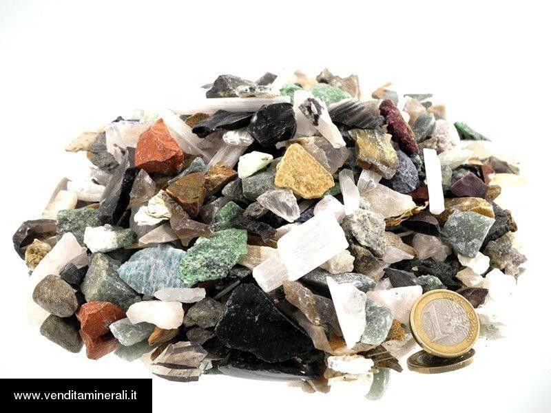Miscela di pietre ruvide  - 2,5 cm 1 kg