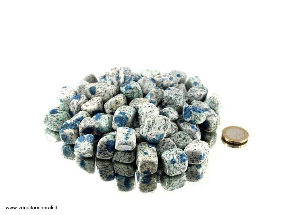 Ciottoli di diaspro K2 - 0.1 kg
