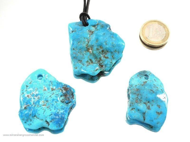 Ciondolo a forma libera in pietra naturale piccolo
