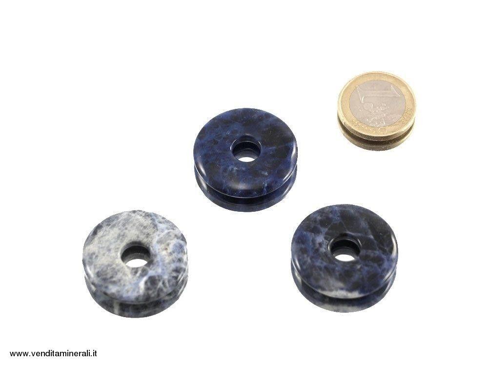 Sodalite a forma di ciambelle - 30 mm