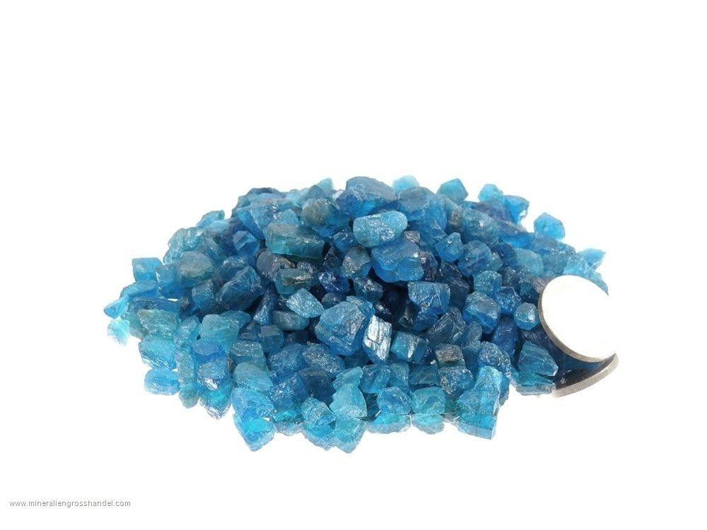 Gemma blu di apatite  -  0,1 kg