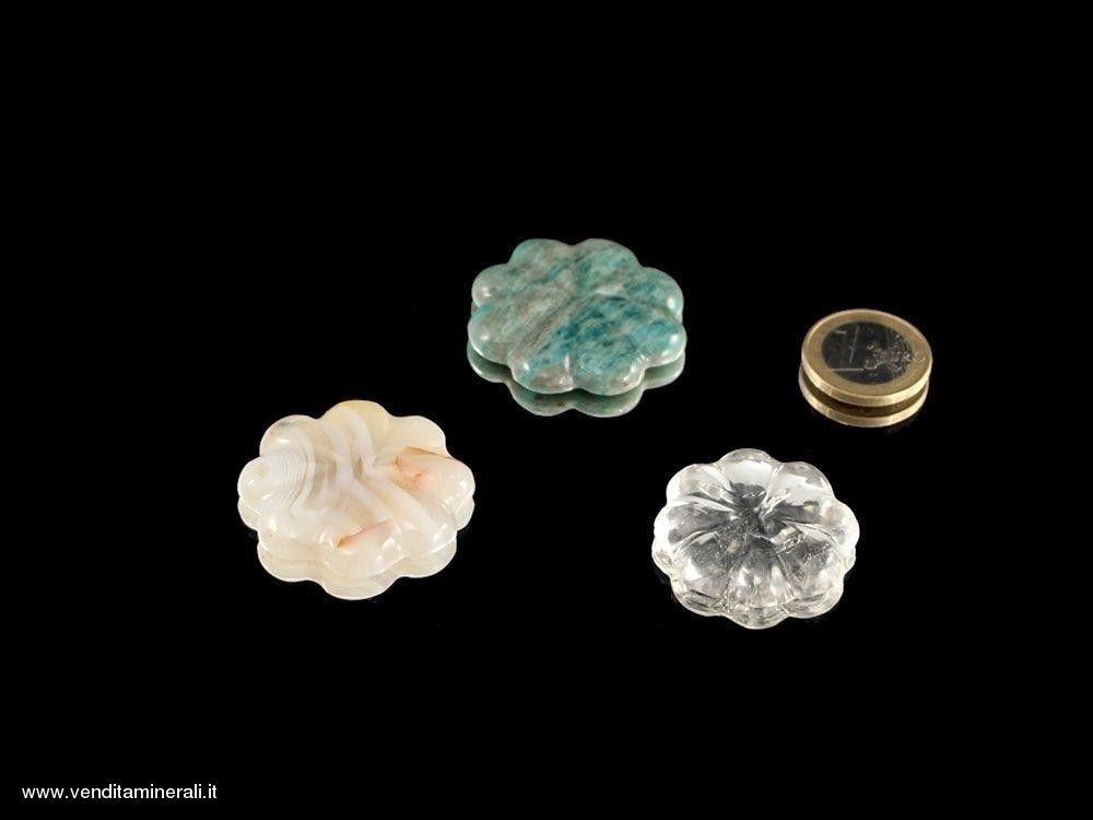 Incisione floreale - 3 pezzi
