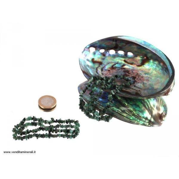 Braccialetti splitter in Smeraldo