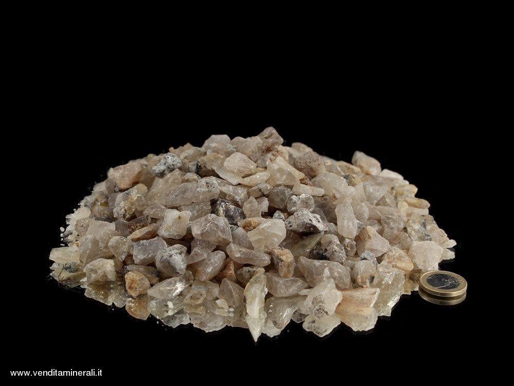 Mini pietre grezze di quarzo rutilato- 1 kg