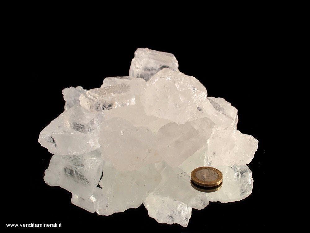 Halite - sale cristallino (2 - 5 cm) - 1 kg