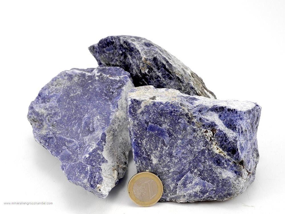 Pietre grezze di sodalie - 1 kg