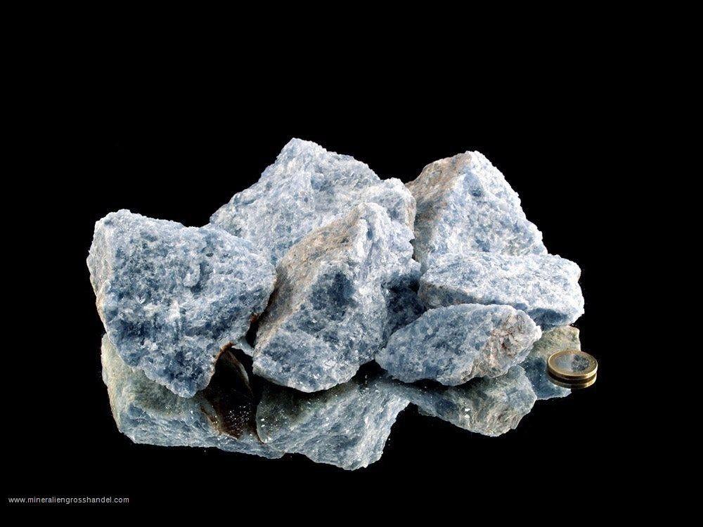 Pietre grezze di calcite blu - 1 kg