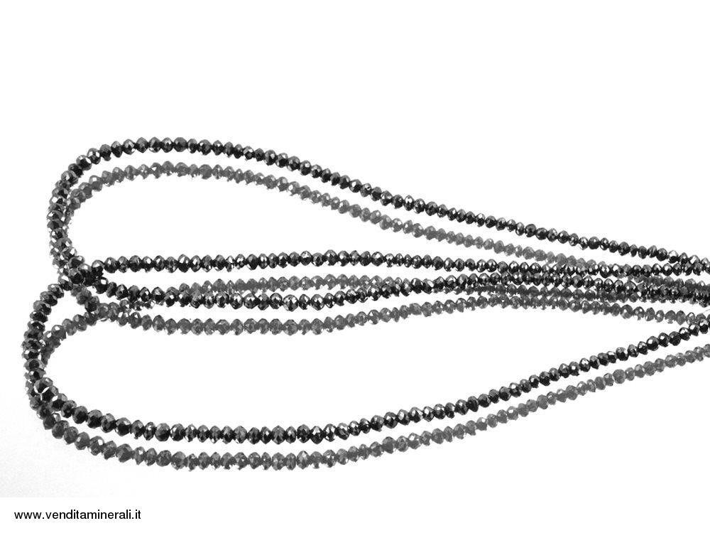 Filo di catena di diamanti nobile sfaccettato