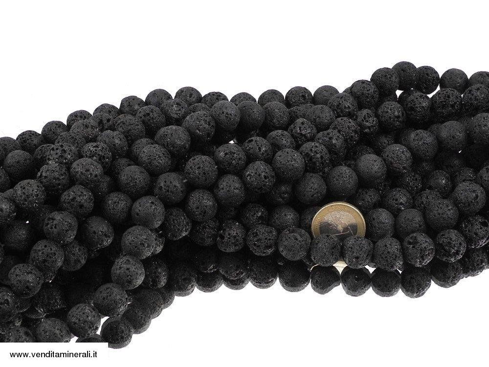 Filo a catena di sfere di lava