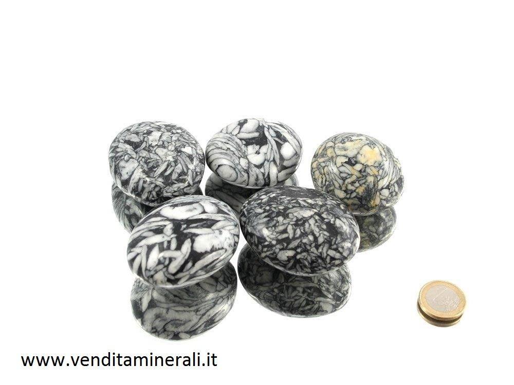 Pietre a forma di ciottoli / XL di Pinolite - 0,5 kg