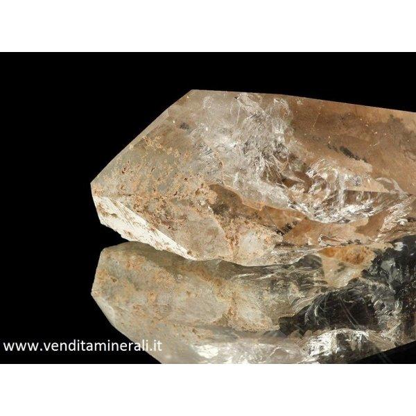 Cristallo di rocca: lucido a forma naturale