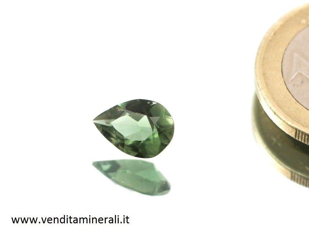 Tormalina sfaccettata - verde