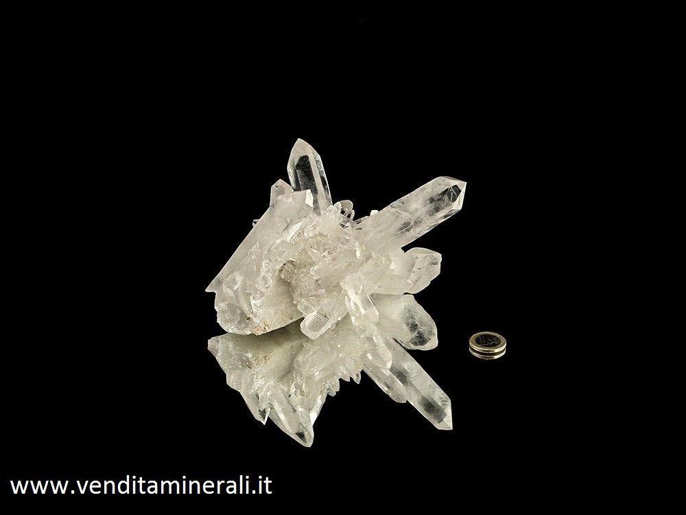 Gruppo di cristallo di rocca