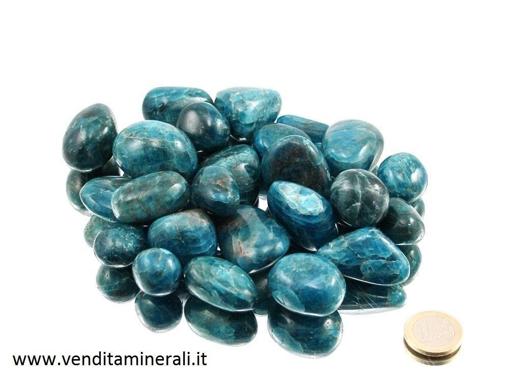 Apatite blu burattato 0,25 kg
