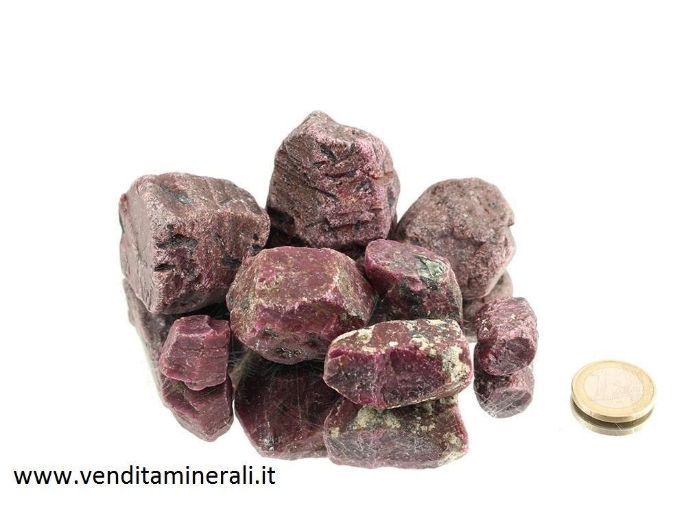 Cristalli di rubino - 0,25 kg