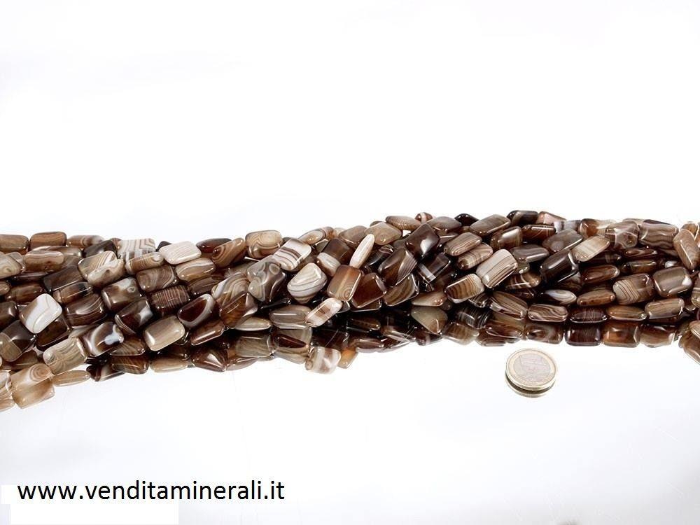 Collana rettangolare di Sardonyx