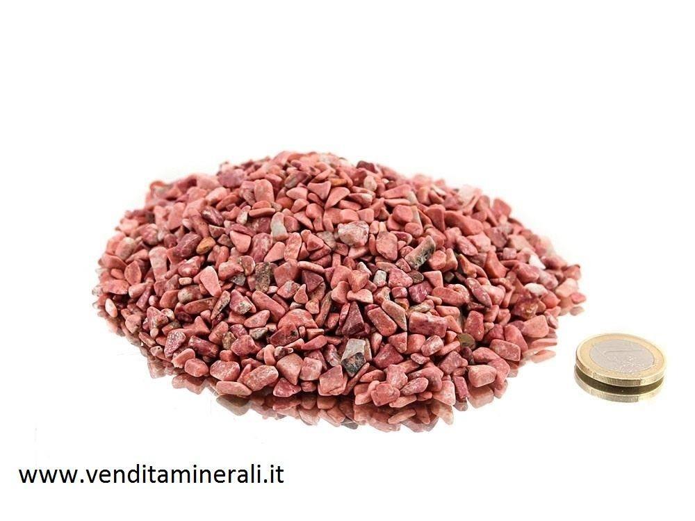 Pietre di thulite burattate - 0,5 kg