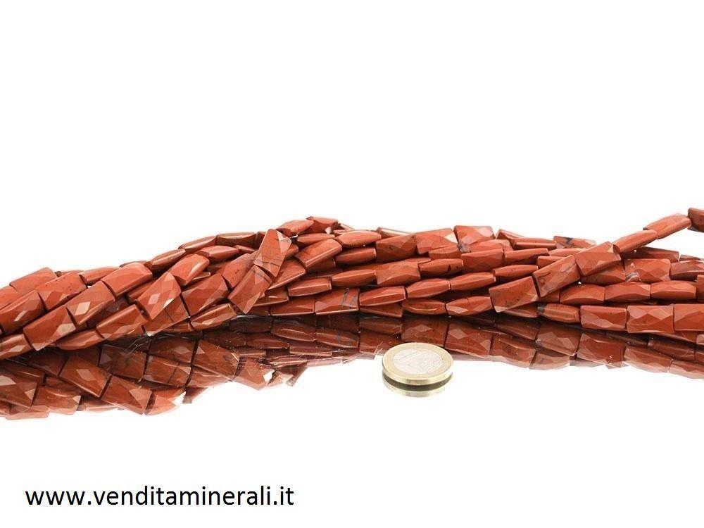 Collana di diaspro rosso