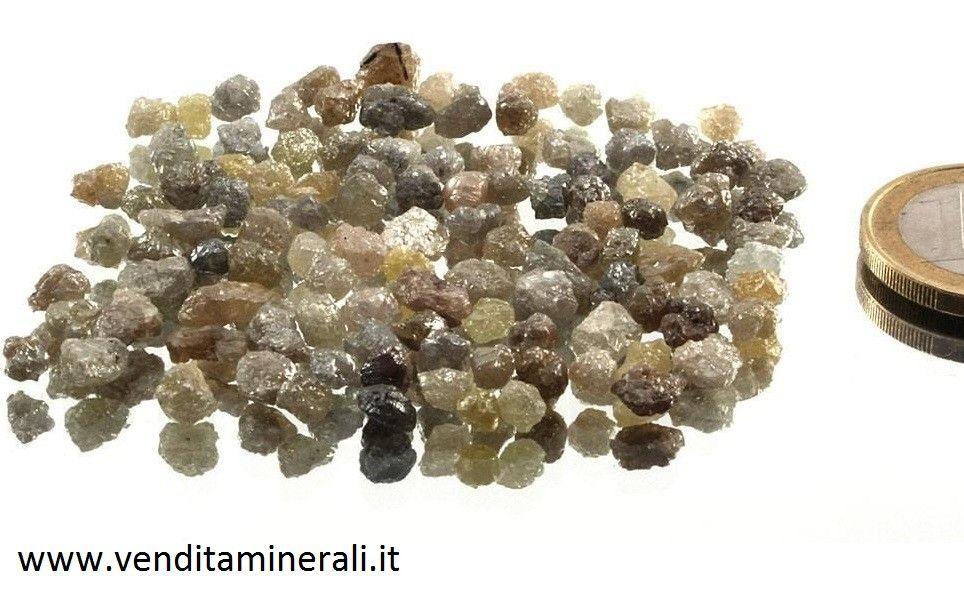 Diamante - diamante grezzo - cristallo di diamante 1 pezzo