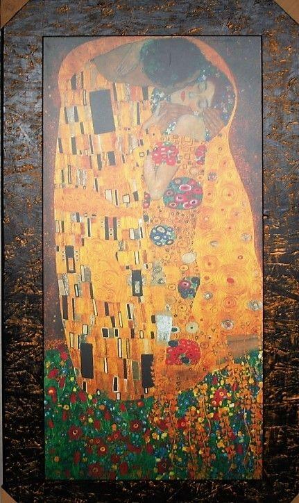 QUADRO L\'ABBRACCIO di GUSTAV KLIMT FALSI D\'AUTORE | Galleria Etnici ...