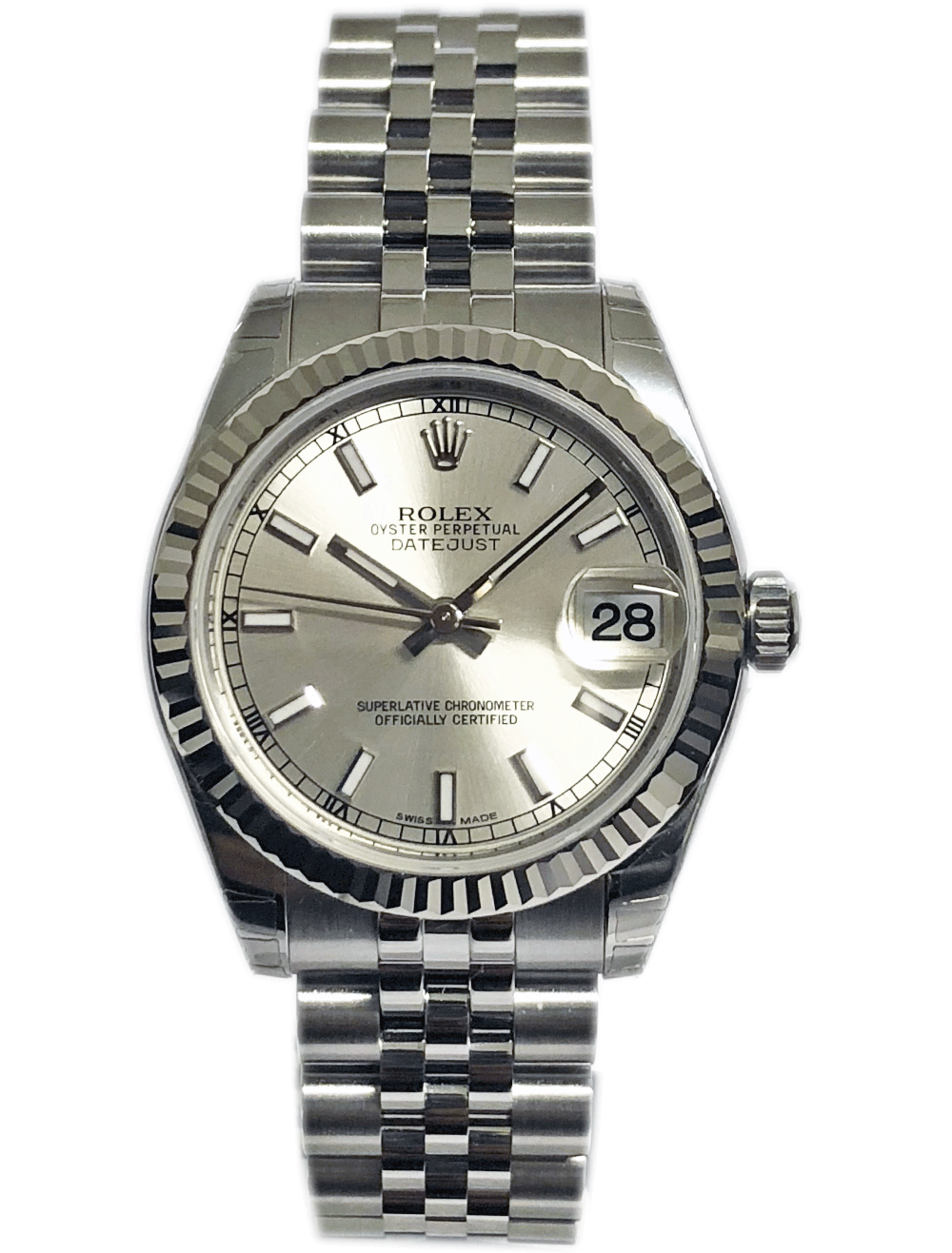 4d24b9e5ed14 ROLEX OYSTER PERPETUAL DATEJUST 31 MM 178274-2 - New Watches ...
