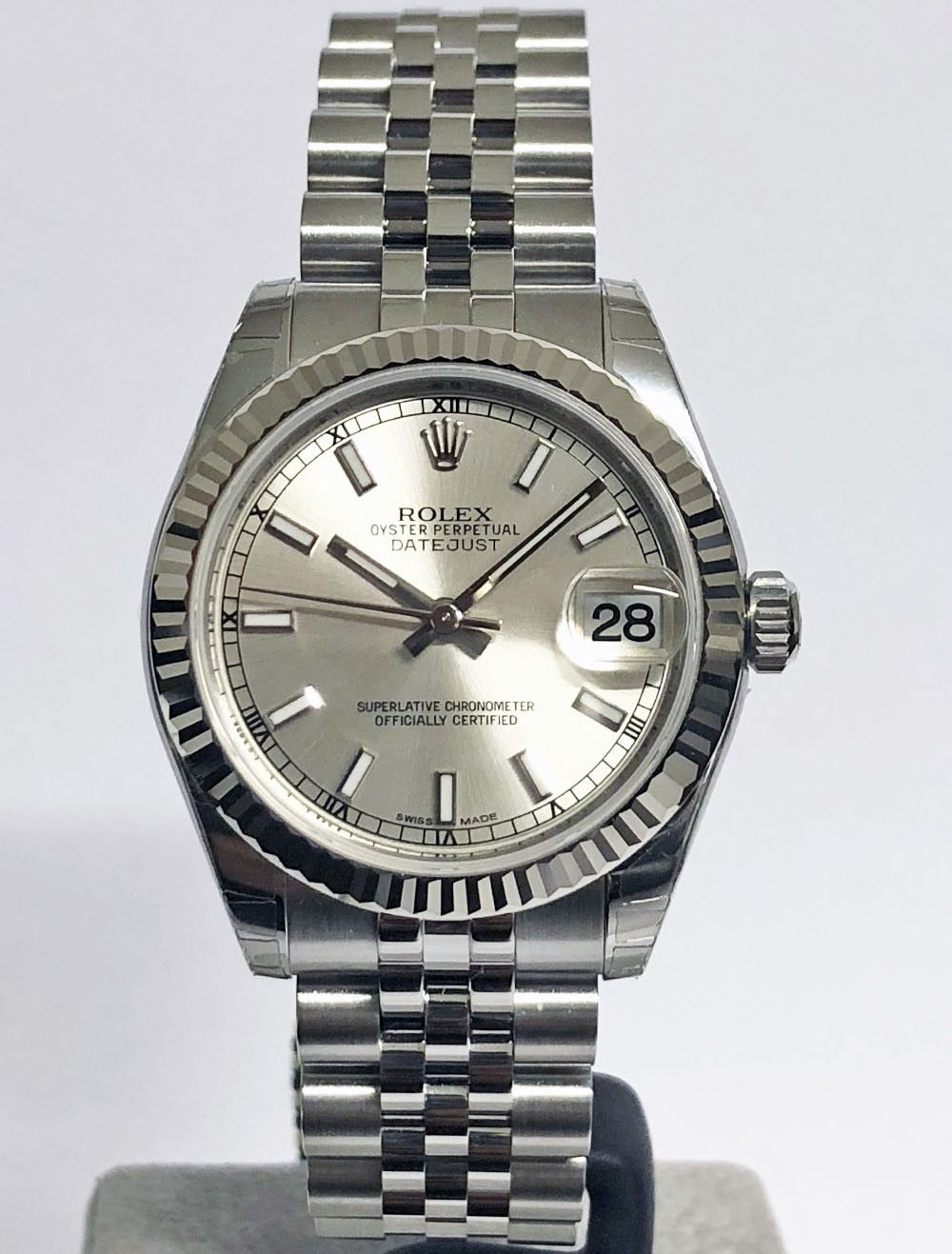 Rolex Oyster Perpetual Datejust 31 Mm 178274 2 Luxellence The