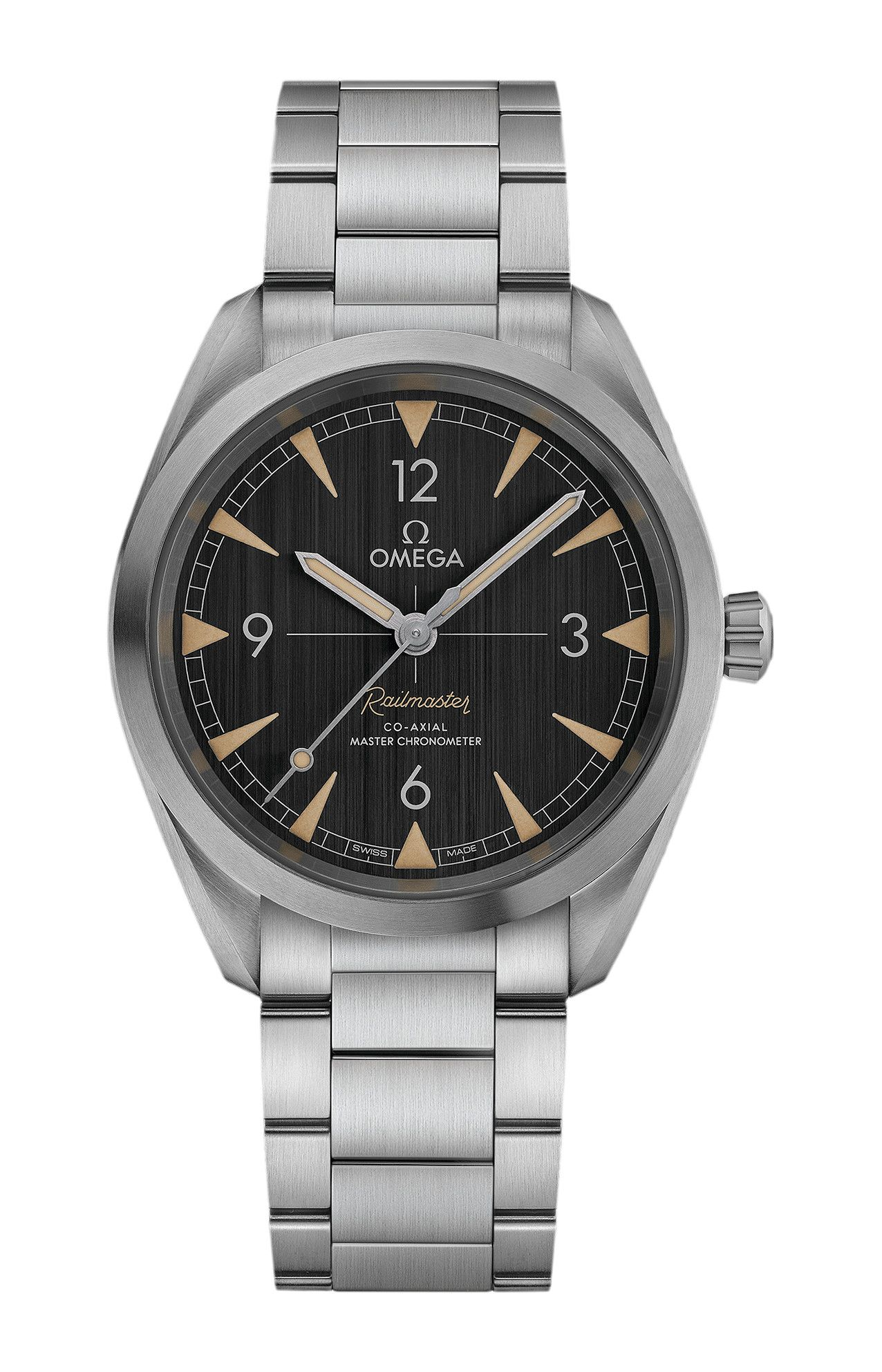 SEAMASTER RAILMASTER OMEGA CO-AXIAL MASTER CHRONOMETER 40 MM - 220.10.40.20.01.001